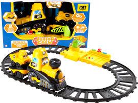 Акция на Железная дорога Funrise CAT для малышей (82489) (021664824894) от Rozetka