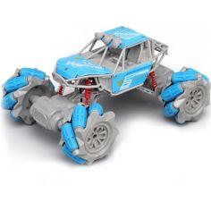 Акция на Джип-конструктор Трюковый вездеход на радиоуправлении ZhengGuang UD2200A 4WD, 1:20, дрифт, краулер, свет, BLUE от Allo UA