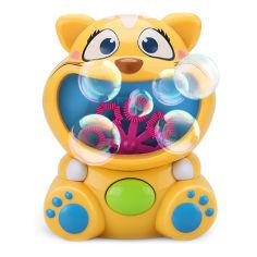 Акция на Набор Bubble Fun Котик 120 мл DHOBB10470B ТМ: Bubble Fun от Antoshka