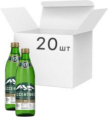 Акция на Упаковка минеральной лечебно-столовой сильногазированной воды Ессентуки ГОСТ №17 0.45 л х 20 бутылок (4607018771791) от Rozetka