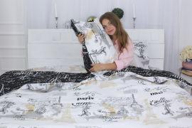 Акция на Простынь MirSon Бязь Premium 17-0486 Perfection 200x220 см (2200003454215) от Rozetka