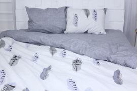 Акция на Комплект постельного белья MirSon Бязь Premium 17-0476 Astonishing Двуспальный (2200003428759) от Rozetka