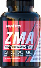 Акция на Бустер тестостерона Vansiton ZMA (Магний + Цинк + В6) 120 капсул (4820106592188) от Rozetka
