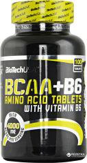 Акция на Аминокислота Biotech BCAA + B6 100 таблеток (5999076234066) от Rozetka