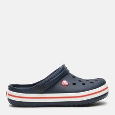 Акция на Кроксы Crocs Crocband Clog Kids 204537-485-C9 26 15.7 см Navy/Red (0887350924565) от Rozetka