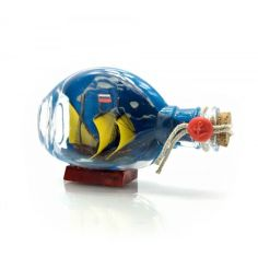 Акция на Парусник в бутылке (13,5х8х5,5 см) Darshan от Allo UA
