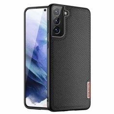Акция на Чехол TPU+Textile Dux Ducis Fino для Samsung Galaxy S21+ Черный от Allo UA