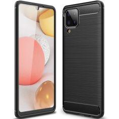 Акция на TPU чехол Slim Series для Samsung Galaxy A12 Черный от Allo UA