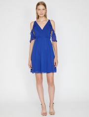 Акция на Платье Koton 0KAK84675FW-600 38 Blue (8681971780164) от Rozetka