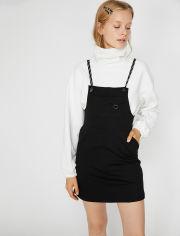 Акция на Платье Koton 0KAL88145IK-999 L Black (8682261439434) от Rozetka