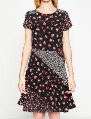 Акция на Платье Koton 8KAF80205FW 36 Black Design (8681687725275) от Rozetka