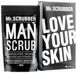 Кофейный скраб для тела и лица Mr.Scrubber Man для всех типов кожи 200 г (4820200230061) от Rozetka