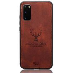 Акция на Чехол Deer Case для Samsung Galaxy S20 Brown от Allo UA