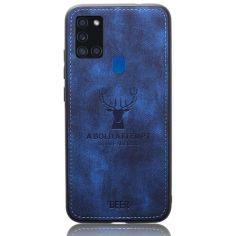 Акция на Чехол Deer Case для Samsung Galaxy A21s Blue от Allo UA