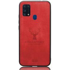 Акция на Чехол Deer Case для Samsung Galaxy M31 Red от Allo UA