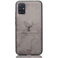 Акция на Чехол Deer Case для Samsung Galaxy A51 Grey от Allo UA