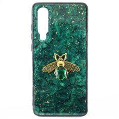 Акция на Чехол Epoxy Bee Case для Huawei P30 Green от Allo UA