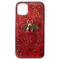 Акция на Чехол Epoxy Bee Case для Apple iPhone 11 Pro Max Red от Allo UA