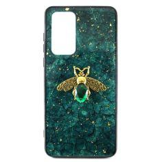 Акция на Чехол Epoxy Bee Case для Samsung Galaxy S20 Plus Green от Allo UA
