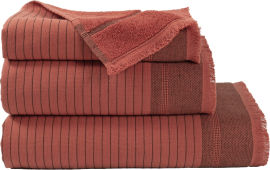 Акция на Полотенце махровое Buldans Simba kiremit кирпичный 45x90 (svt-2000022239448) от Rozetka