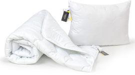 Акция на Набор антиаллергенный MirSon EcoSilk Всесезонный №1502 Eco Light White Soft Одеяло + подушка 50x70 (2200003480542) от Rozetka