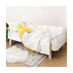 Акция на Комплект постельного белья детский 4 эл Twins Star полуторный 1155-TPS-05 yellow, желтый от Allo UA