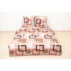 Акция на Комплект постельного белья Nostra Полуторный Наволочки 70х70 Бязь Gold (2930910085195) от Allo UA