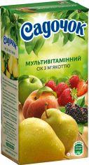 Акция на Упаковка сока Садочок Мультивитаминный с мякотью 0.5 л х 24 шт (4823063105545) от Rozetka