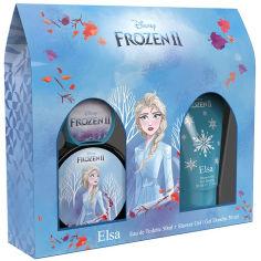 Акция на Набор Disney Frozen 2 Elsa Туалетная вода 50 мл + Гель для душа 50 мл (810876030632) от Rozetka
