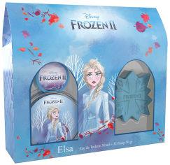 Акция на Набор Disney Frozen 2 Elsa Туалетная вода 50 мл + Мыло 50 г (810876030298) от Rozetka