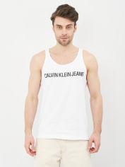 Акция на Майка Calvin Klein Jeans Institutional Logo Reg Tank J30J315249-YAF XL Ck White (8719852659022) от Rozetka