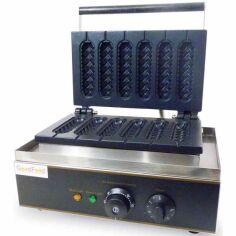 Акция на Аппарат КОРН-ДОГ для приготовления вафли на палочке GoodFood CM6 от Allo UA