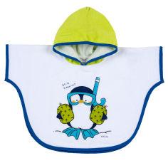 Акция на Полотенце-пончо Jolly penguin от Chicco