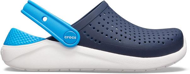 Акция на Кроксы Crocs Kids LiteRide Clog K 205964-462-J2 33-34 20.8 см Темно-синие (191448399884) от Rozetka