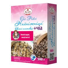Акция на Хлопья овсяные Козуб продукт Чиа 500 г 954879 ТМ: Козуб продукт от Antoshka