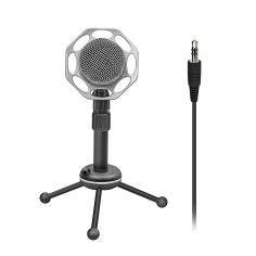 Акция на Микрофон Promate Tweeter-8 Mini-jack 3.5 мм Black (tweeter-8.black) от Rozetka