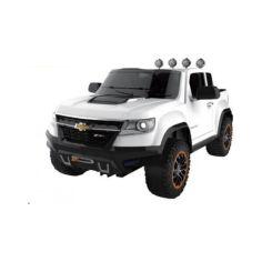 Акция на Электромобиль AL Toys Chevrolet Colorado BA602B White (BA602B) от Allo UA
