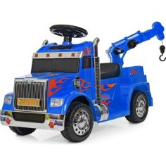Акция на Электромобиль Bambi Тягач ZPV118BR-4 Blue (ZPV118BR) от Allo UA