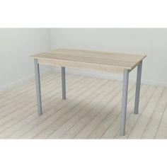 Акция на Стол кухонный Ferrum-decor Бенита 75x120x60 Серый ДСП Сонома 16мм (BEN0046) от Allo UA