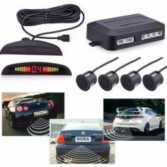 Акция на Парктроник, парковочный радар PS-201 LED дисплей Черный от Allo UA