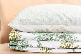 Акция на Летний спальный набор 2670 хлопок 17-0006Donata одеяло и наволочки MirSon 140х205 см 2 шт от Podushka