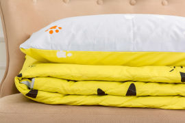 Акция на Детский летний спальный набор 2638 Eco-Soft 19-2508 Cascata одеяло и наволочки MirSon от Podushka