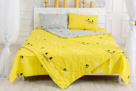 Акция на Летний спальный набор 2626 EcoSilk19-2508Cascata одеяло и наволочки MirSon 155х215 см от Podushka