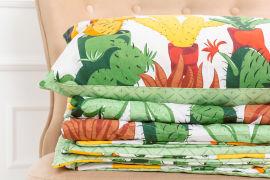 Акция на Детский летний спальный набор 2624EcoSilk17-0002Cecilio одеяло и наволочки MirSon от Podushka