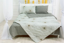 Акция на Одеяло летнее с эвкалиптовым волокном 2406 Leone MirSon 155х215 см от Podushka
