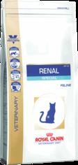 Акция на Сухой корм для взрослых котов с хронической почечной недостаточностью Royal Canin Renal Special Dry 2 кг (3182550748155) (748155) от Rozetka