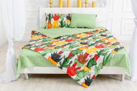 Акция на Детское летнее антиаллергенное одеяло EcoSilk 2308 Cecilio MirSon 110х140 см от Podushka