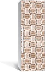 Акция на Виниловая 3D наклейка на холодильник Zatarga Плавные объёмы 650х2000 мм (Z182956re) от Rozetka