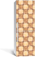 Акция на Виниловая 3D наклейка на холодильник Zatarga Песочный кофе 650х2000 мм (Z183005re) от Rozetka