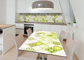 Акция на Виниловая 3D наклейка на стол Zatarga Сочная свежесть 650х1200 мм (Z182777/1st) от Rozetka